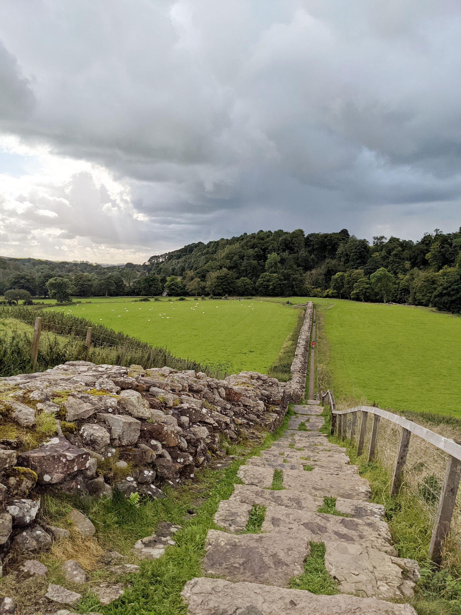 Just along from the bridge over the River Irthing