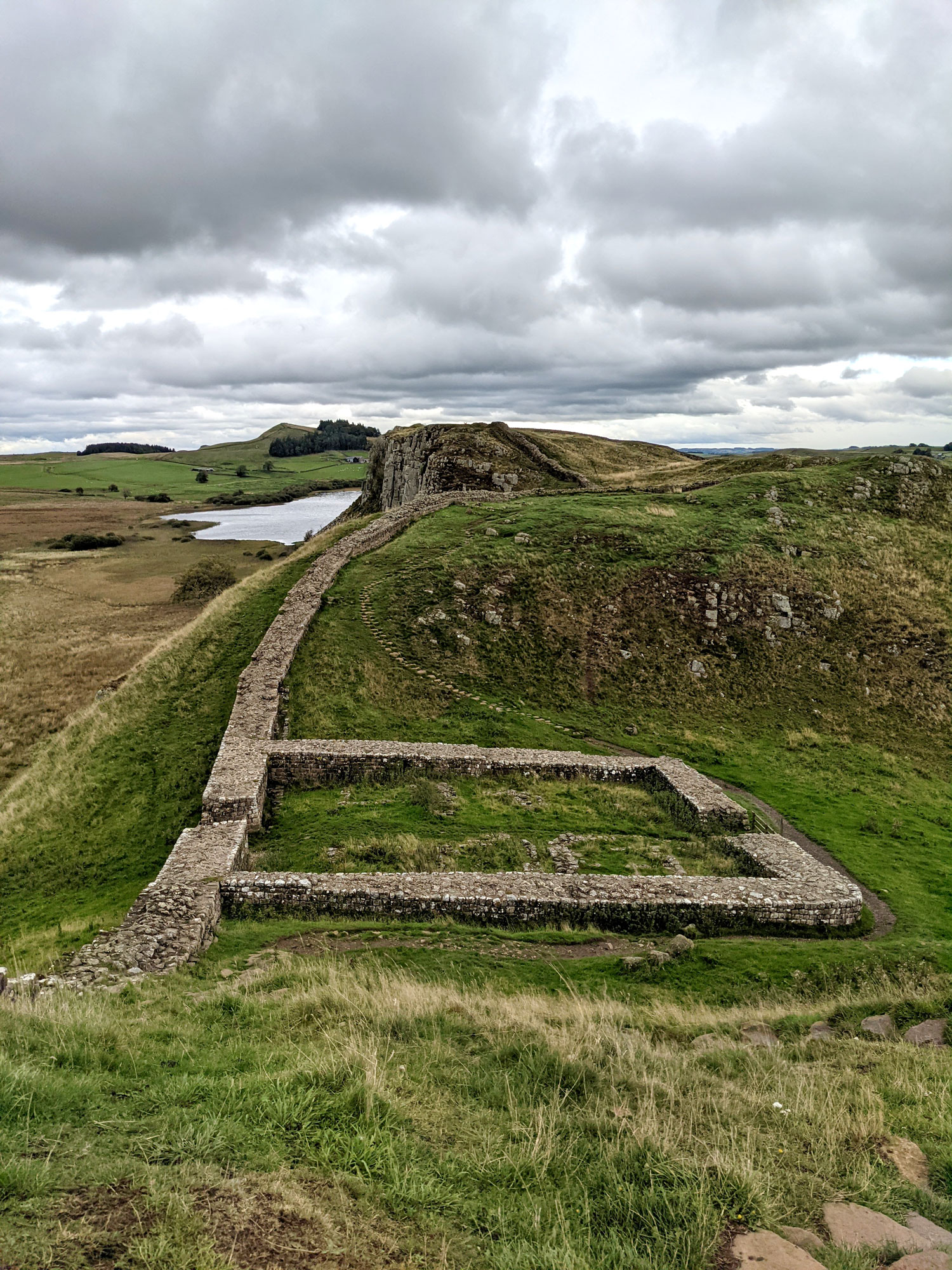 A very well preserved mile castle